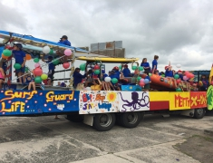 Pukehina Surf Club - Santa Parade Float