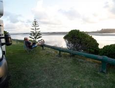 Campervan Overlooking the Estuary
